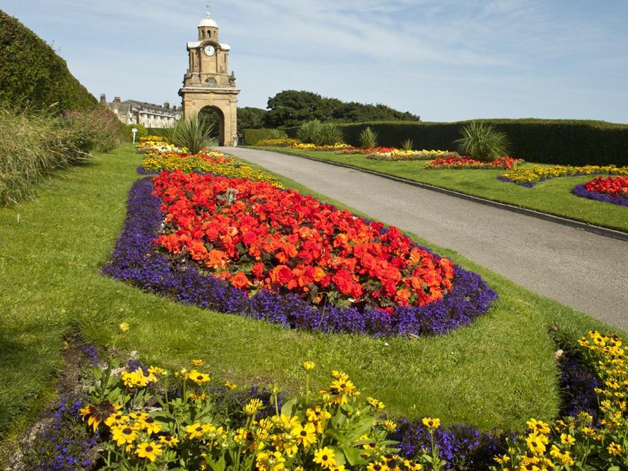Scarborough south cliff gardens